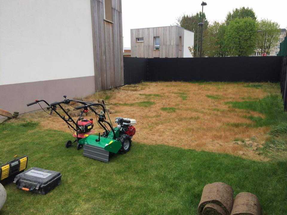 Paysagiste halluin cr ation d 39 espace vert m tropole lilloise for Amenagement jardin 41